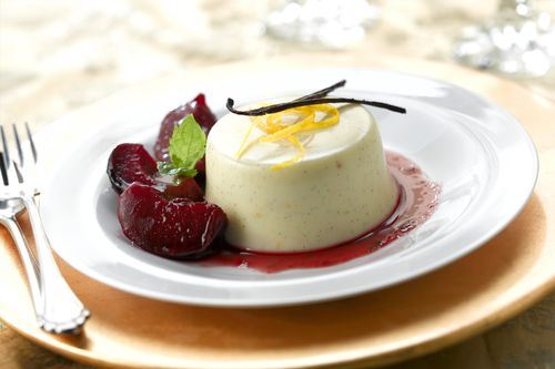Perfectly pious pannacotta