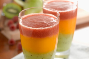Ready, Steady go! Traffic Light Smoothie