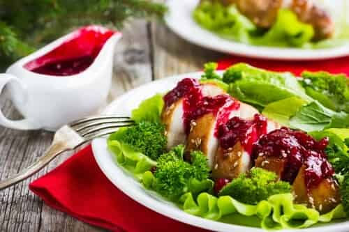 chicken breast with cranberry